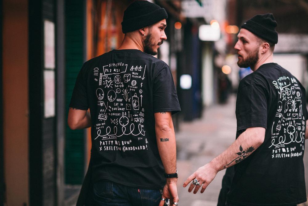 Patty and Bun tshirts