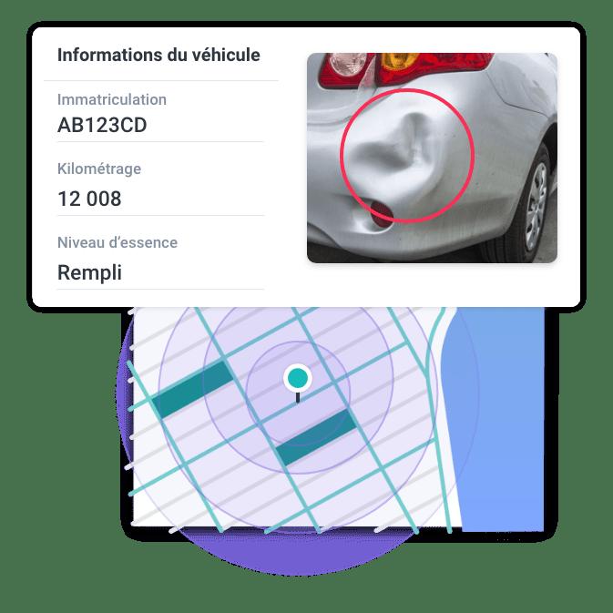 etat des lieux vehicule