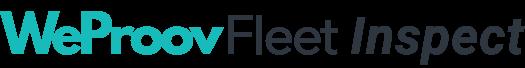 Logo WeProov Fleet Inspect