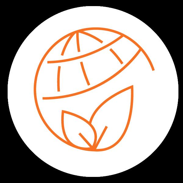 Environmentally friendly icon