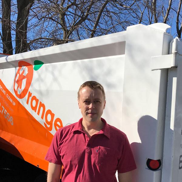 Team member from Orange Crew Inc