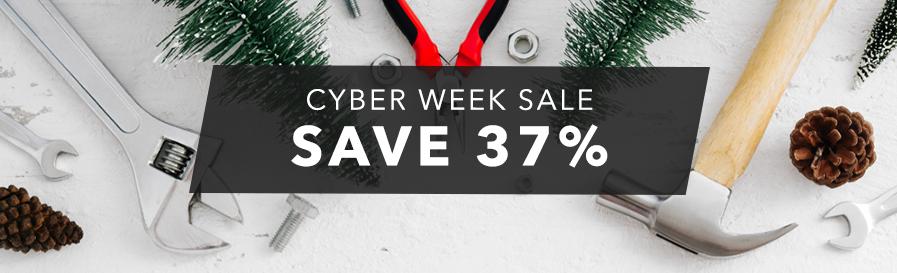 Cyber Week Sale - Save 37%