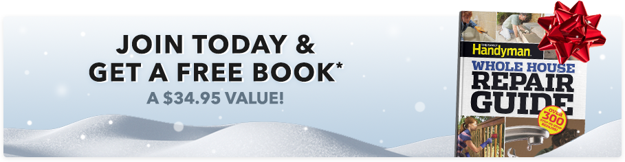 Join Today & Get a Free Book (a $34.95 value)