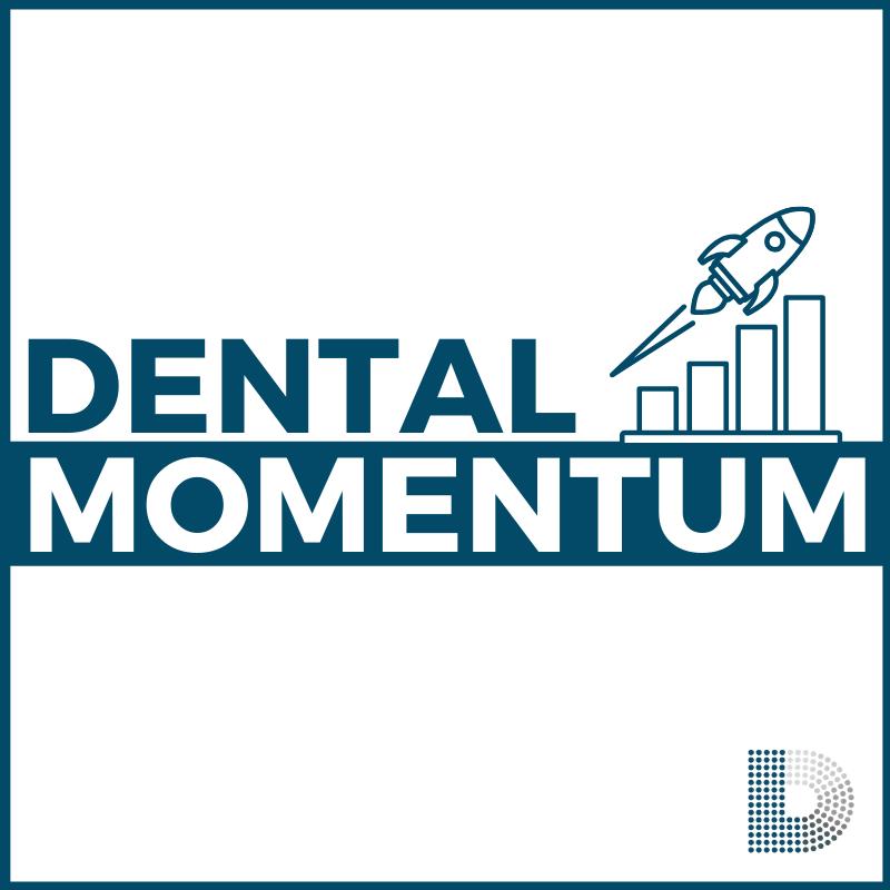 Logo for Dental Momentum Podcast
