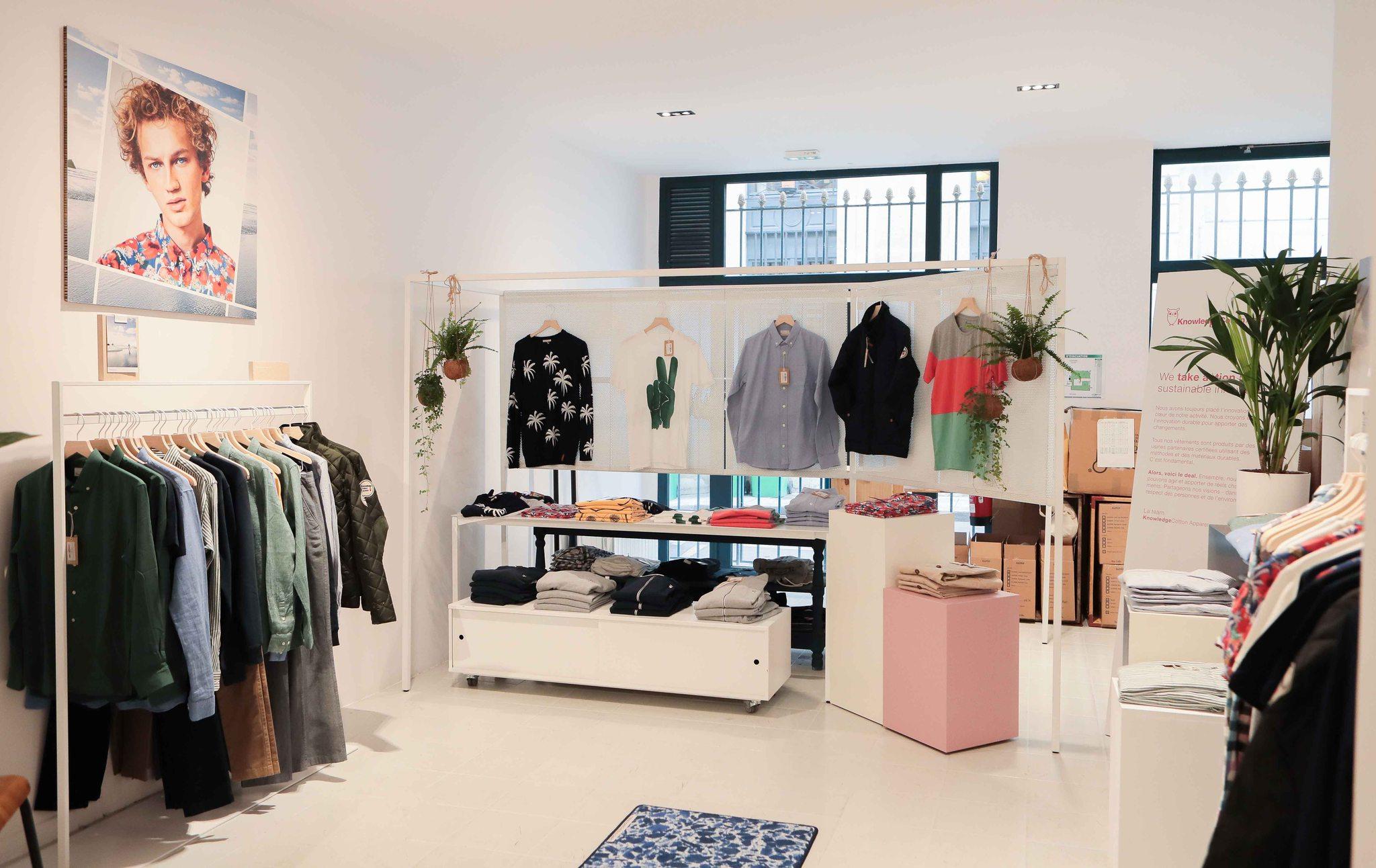 Pop up store mode durable La Garçonnière