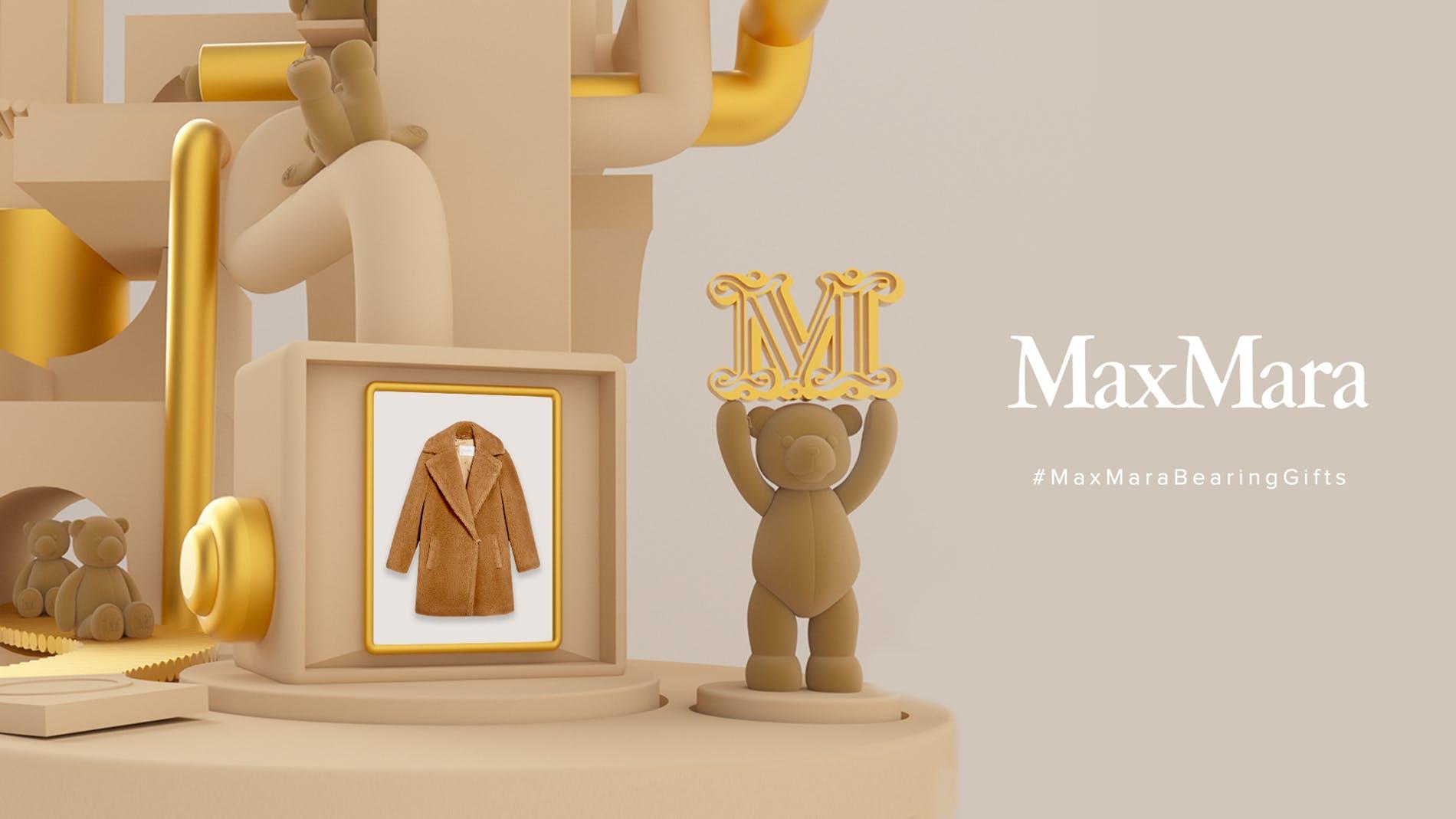 Jeu interactif Max Mara