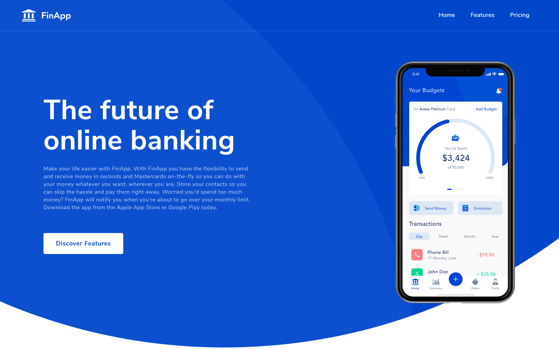 FinApp - App Template