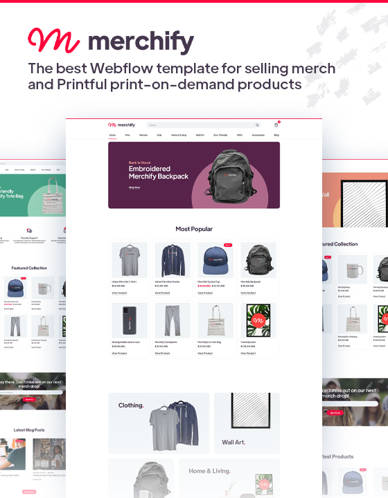 Merchify - Ecommerce