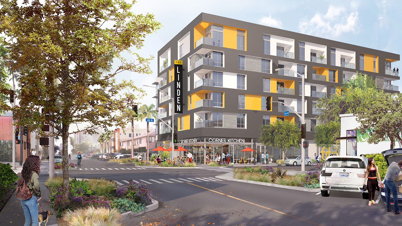 The Linden Apartments Opens in the Heart of Long Beach's East Village Arts District