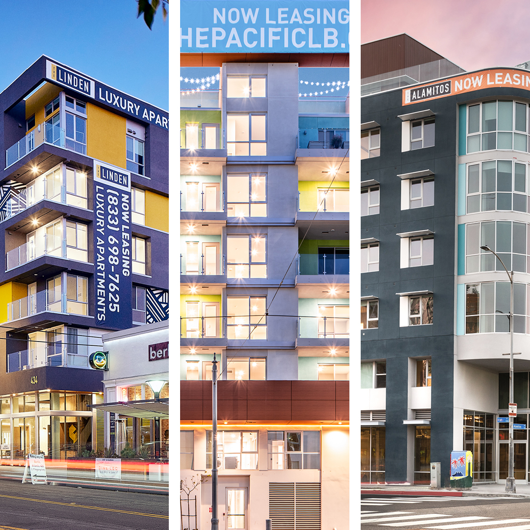 Love Long Beach Living – SRG Residential's Long Beach, CA Lease-ups Continue Occupancy Growth