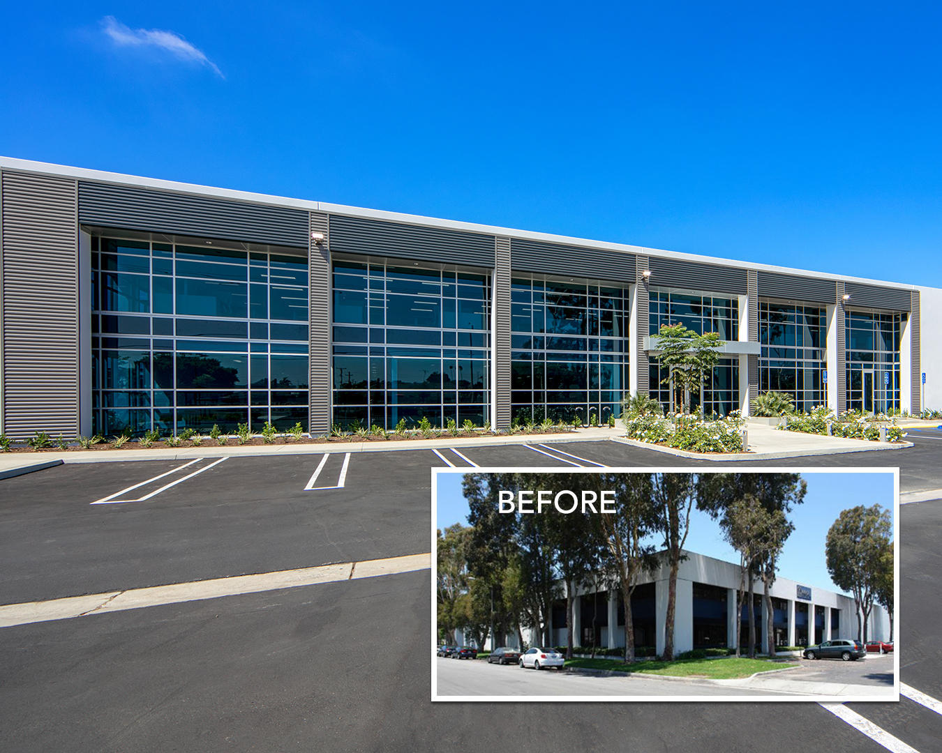 SRG Commercial Property Services Transforms 1970's Building in Huntington Beach, CA