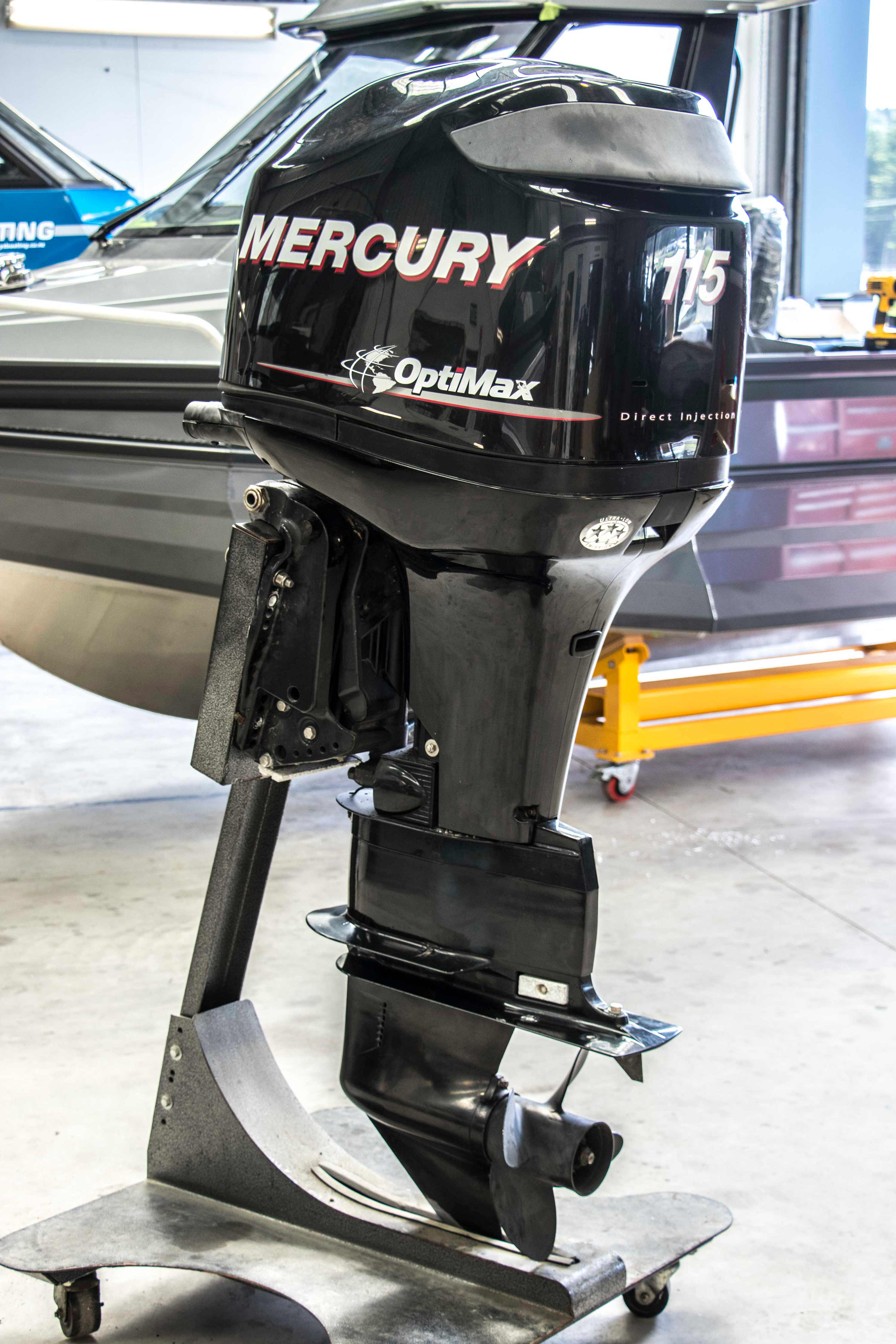 Mercury 115 at Stabicraft Southern