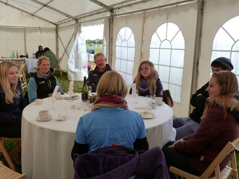 Calmsden Events Sponsors Tent