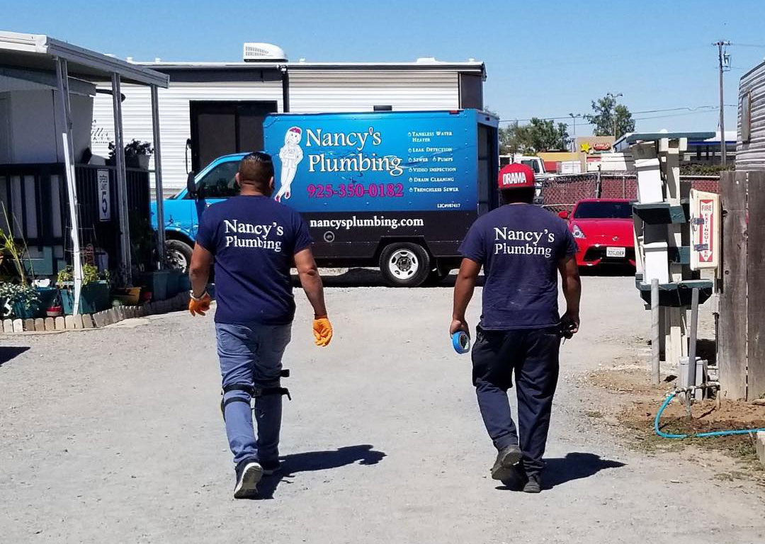 Nancy's Plumbing team