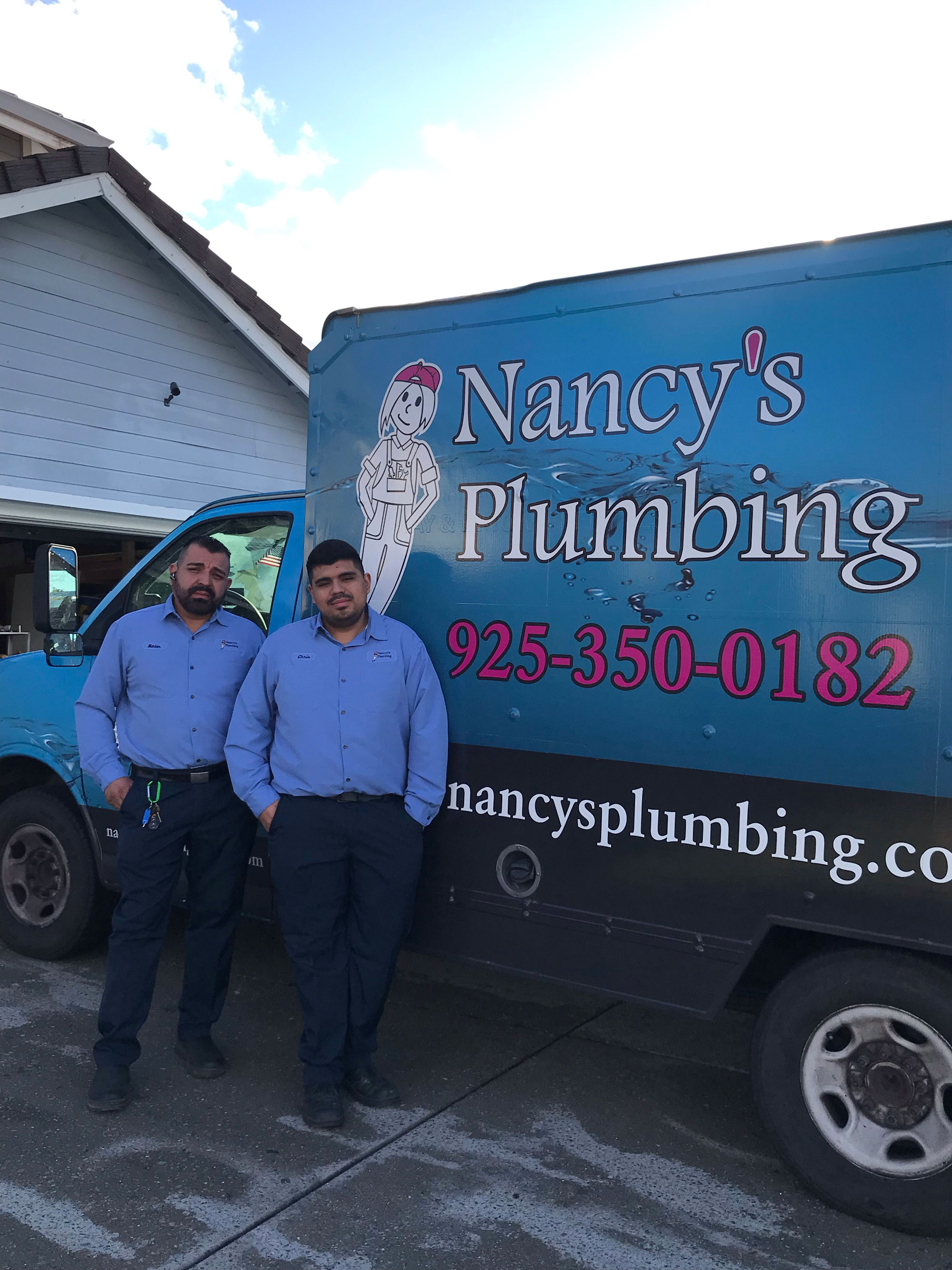 Nancy's Plumbing team photo