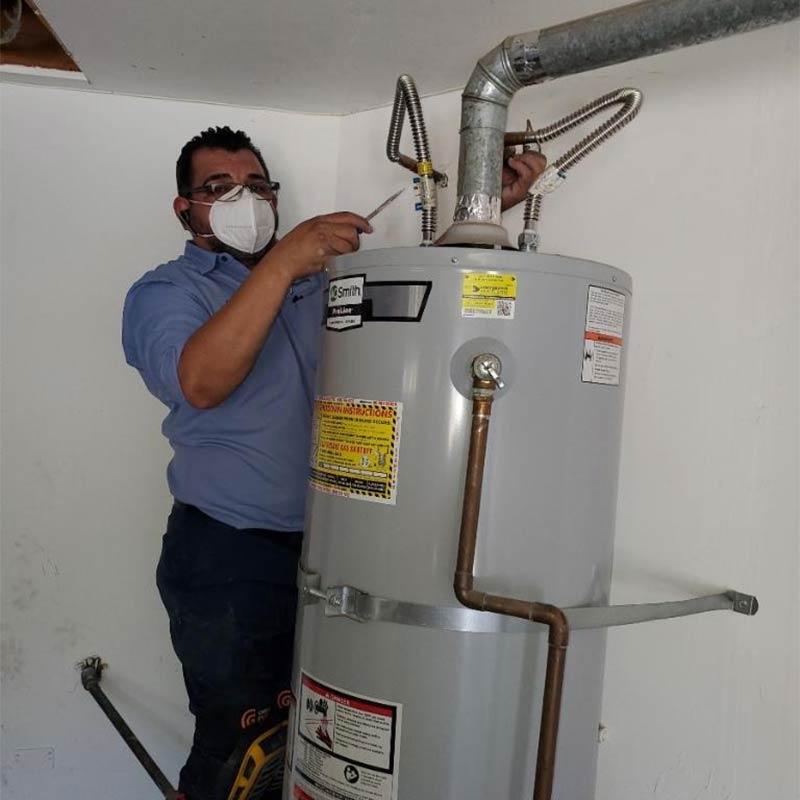 Water heater service in Antioch
