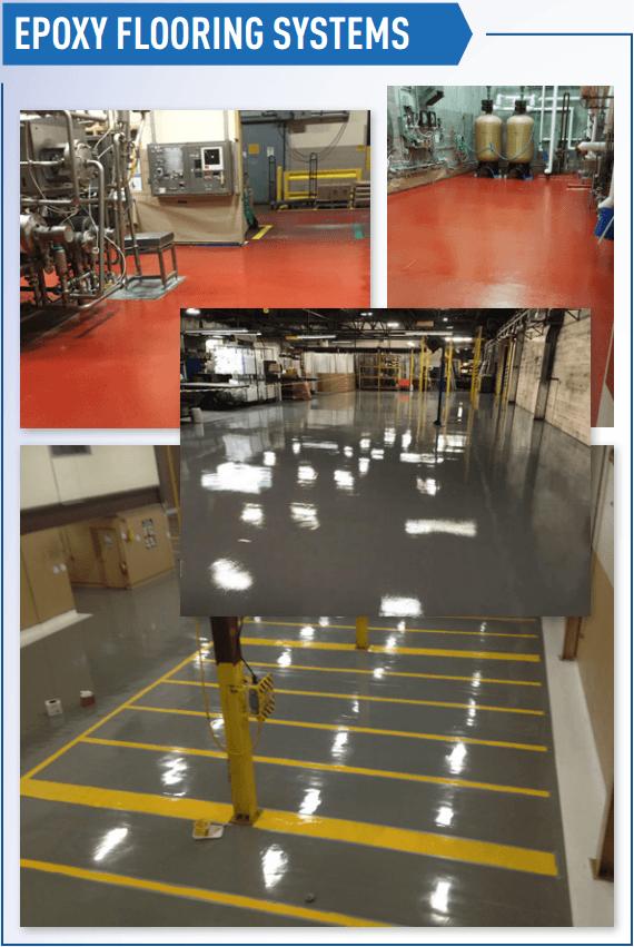 Epoxy Flooring Examples
