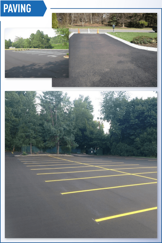 Examples of paving work