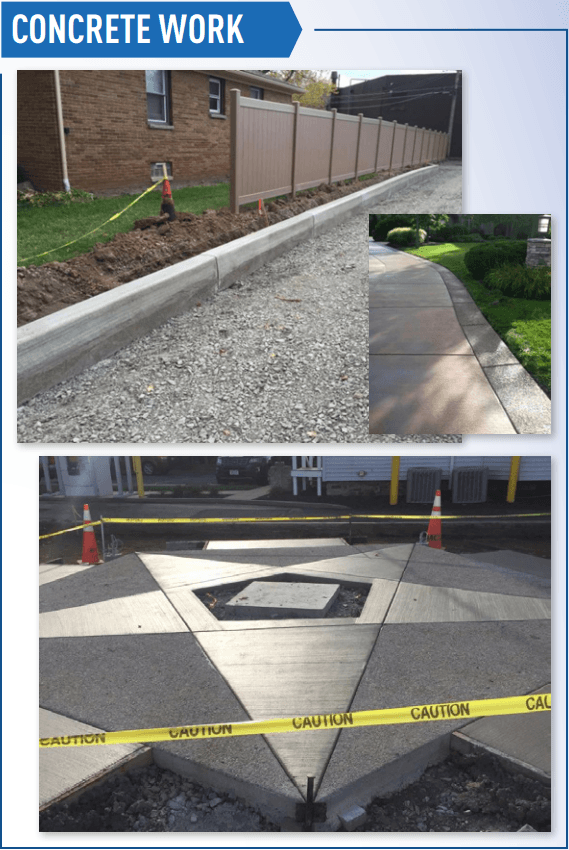Concrete Work Examples
