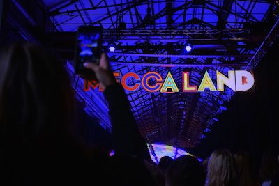 photo being taken at meccaland event activation
