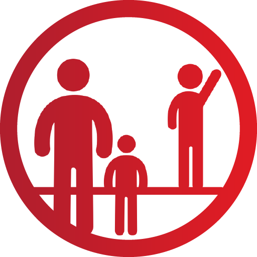 Community Family in Park