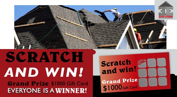 Scratch and Win! Grand Prize $1000 Gift Card