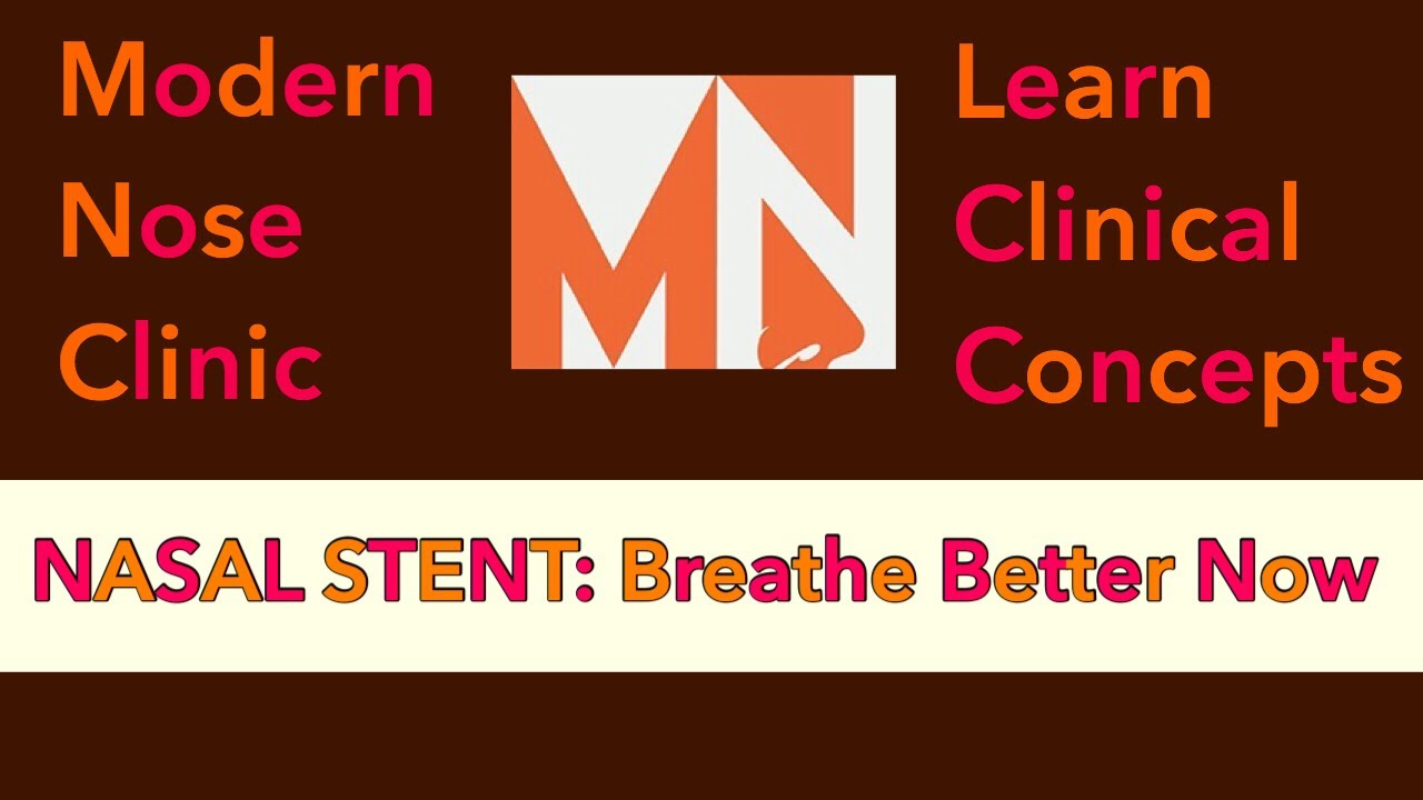 Nasal Stent: Breathe Better Now