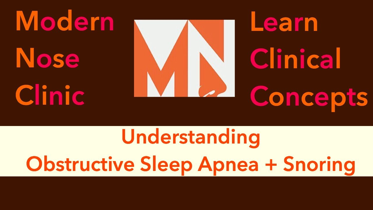 Understanding Obstructive Sleep Apnea