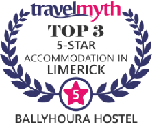 Travel Myth - Top 3 Five Star Accommodation in Limerick
