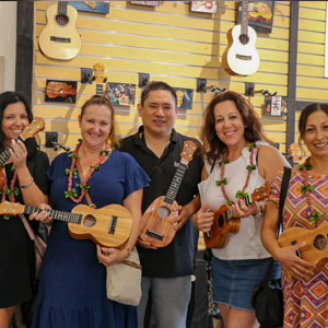KoAloha Ukulele - Hi5 Hawaii Food and Cultural Tour