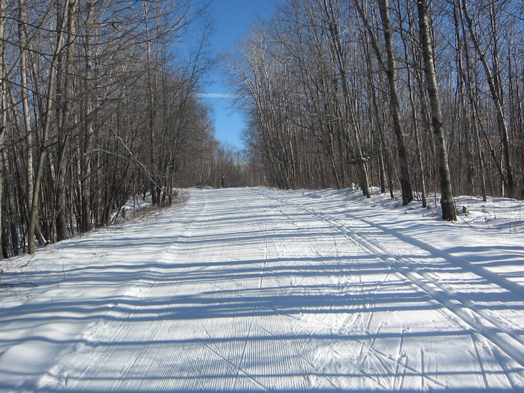 January 2, 2016 cross country skiing at the Blue Hills Trail