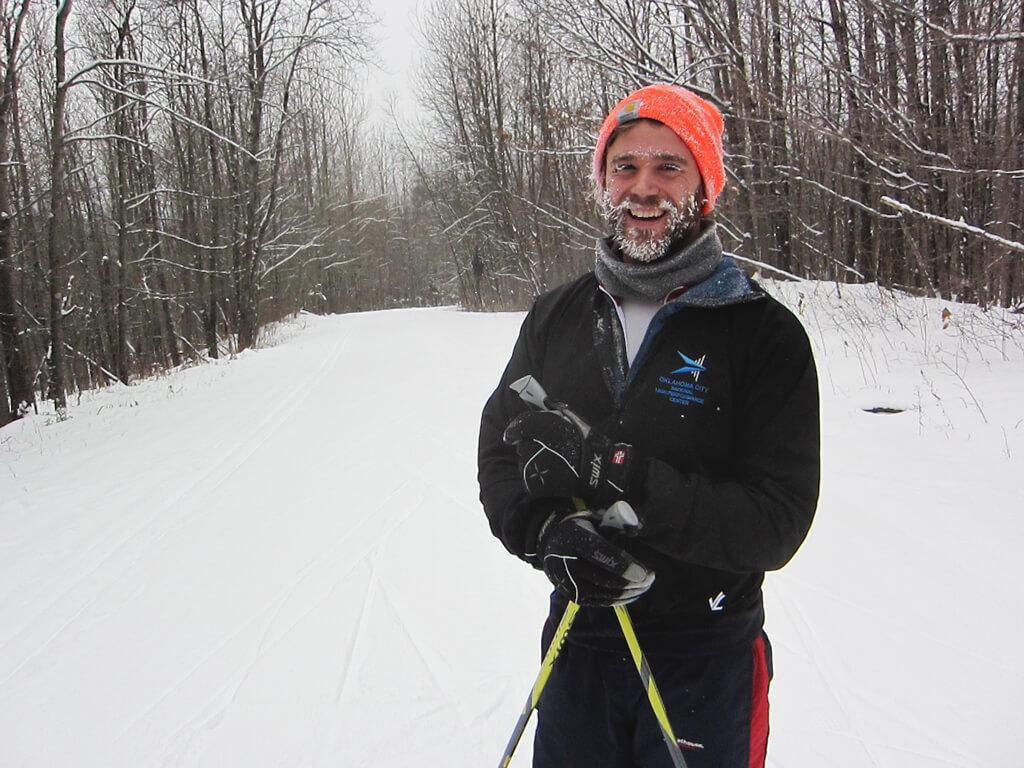 happy skier January 13, 2016