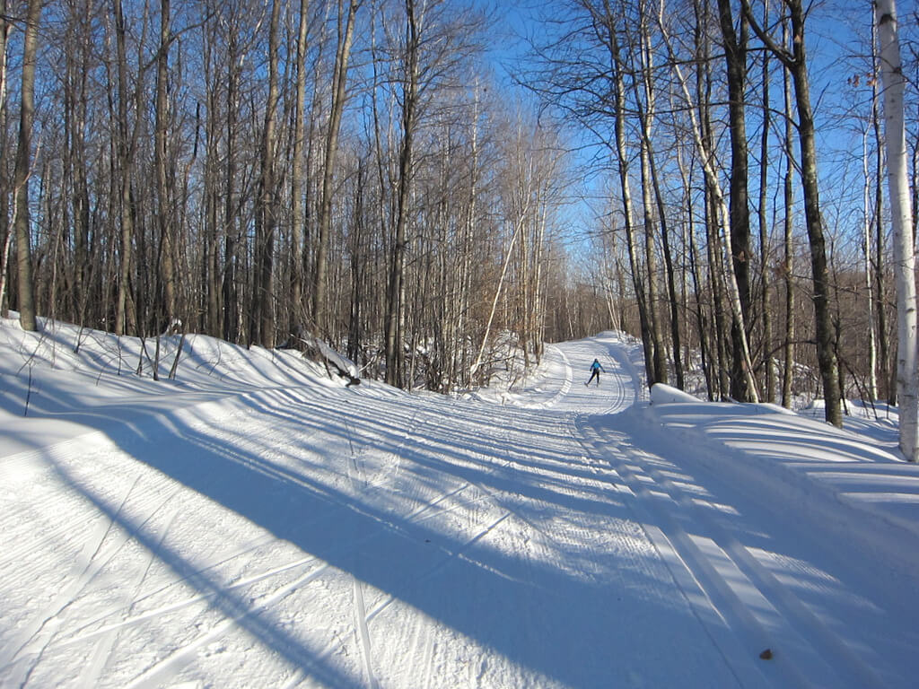 fabulous conditions 18 January 2014 on the West Side of the Blue Hills Trail
