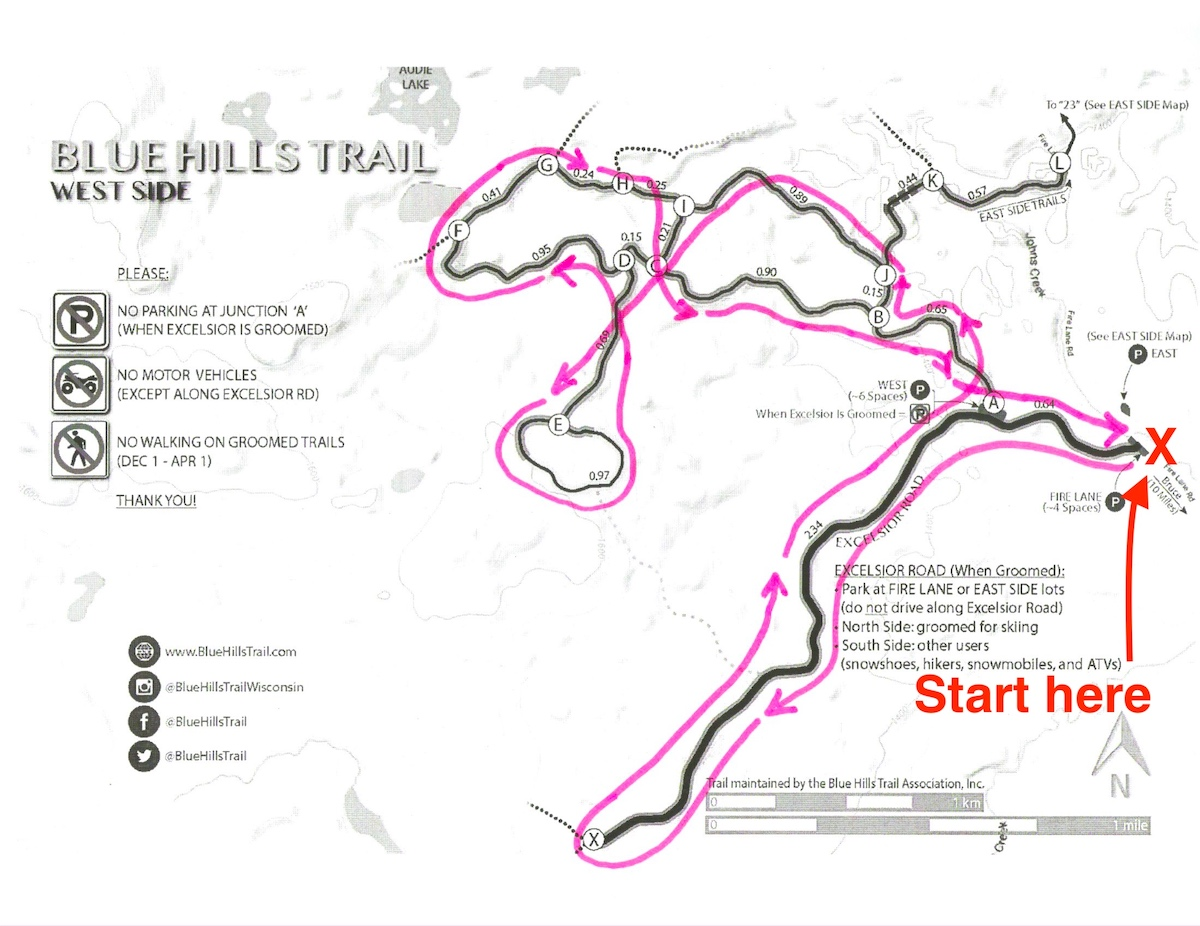 Prince Haakon 14K Virtual Race at the Blue Hills Trail