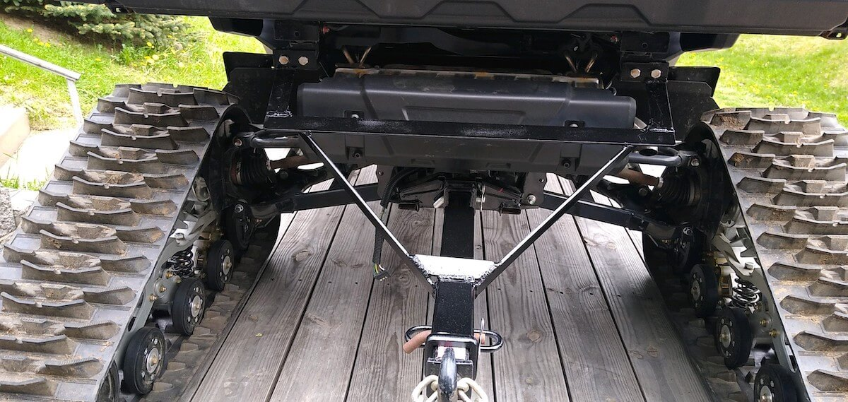 Fabricated (welded) hitch extender