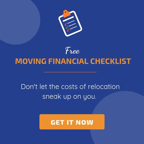 moving financial checklist