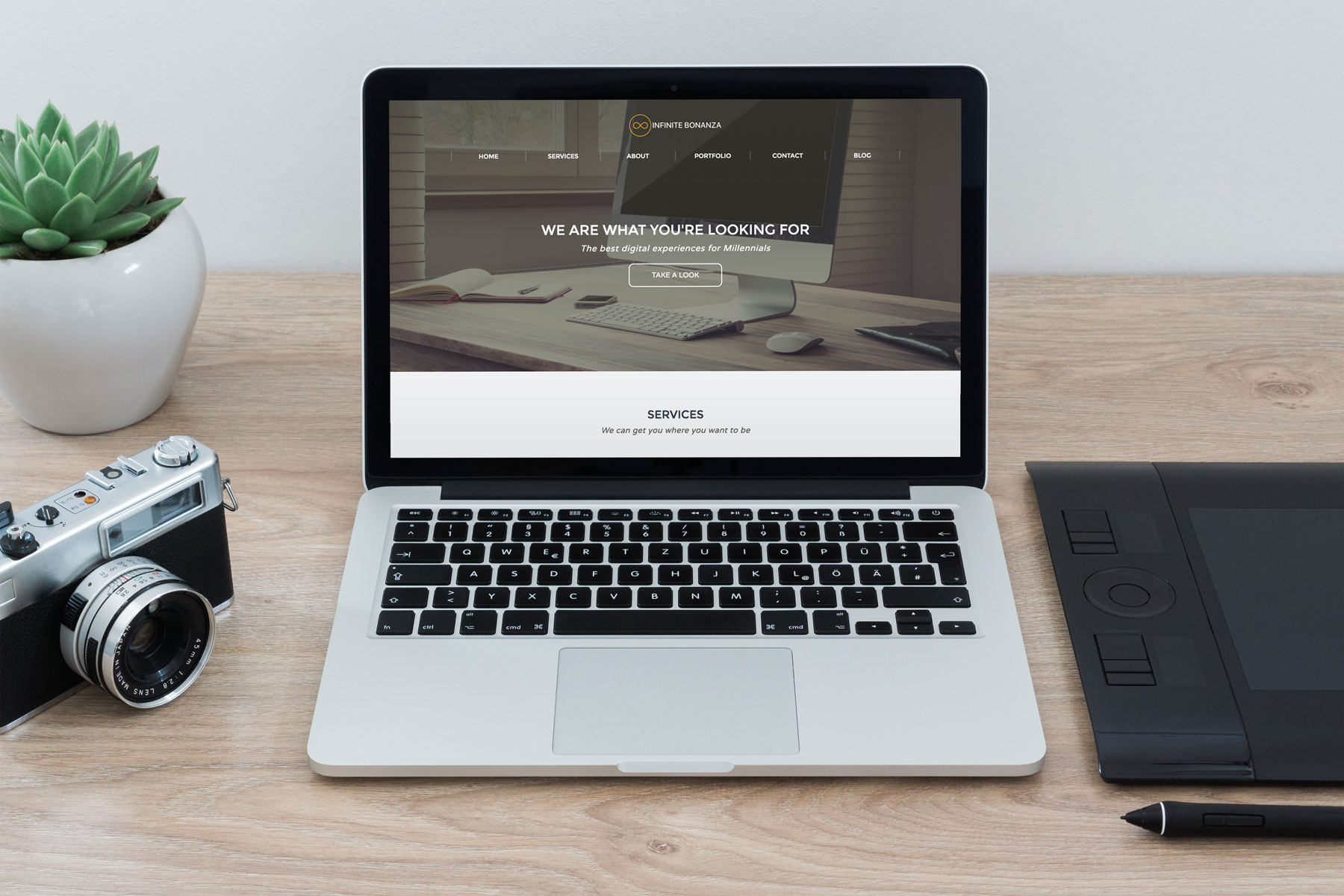 Infinite Loop Design Website
