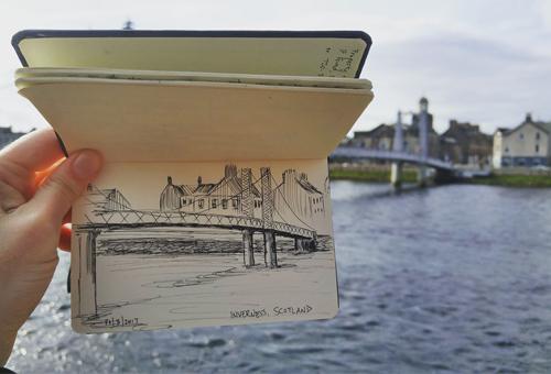 Urban Sketching: Gord Hamden