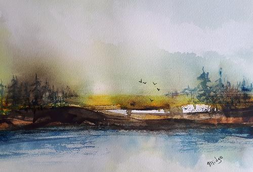 Watercolour Landscape Workshop : Midge Ravensdale