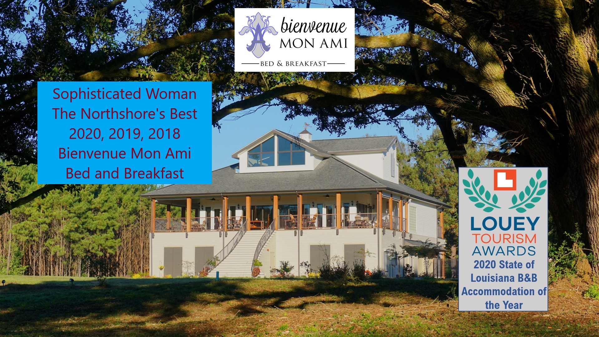 Northshore's Best B&B, Chef, EventCntr, Hotel & Camping;