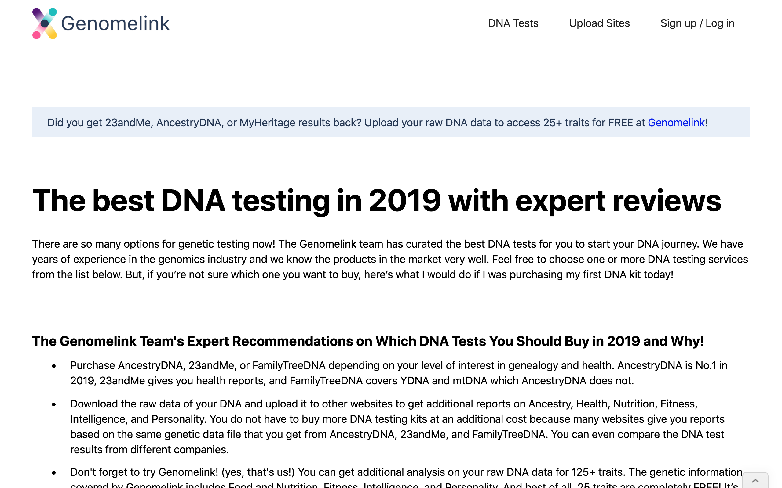 The best DNA testing in 2019 - Ancestry and even more!