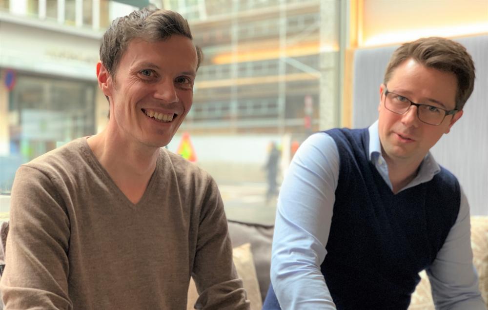 Sindre Mariero og Dag Josef Foss. Foto: Tuva Bønke Grønning