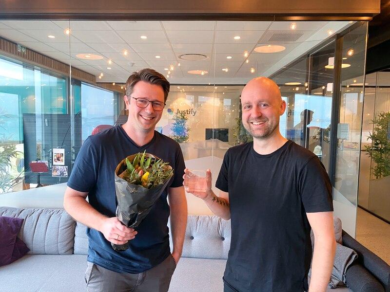Dag Josef Foss og Ole Fredrik Lie