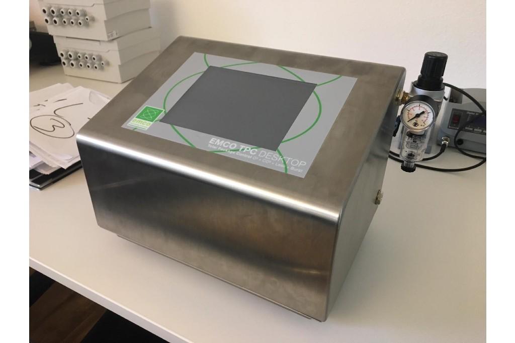DGVT De-Gassing Valve Tester Coffee Packaging