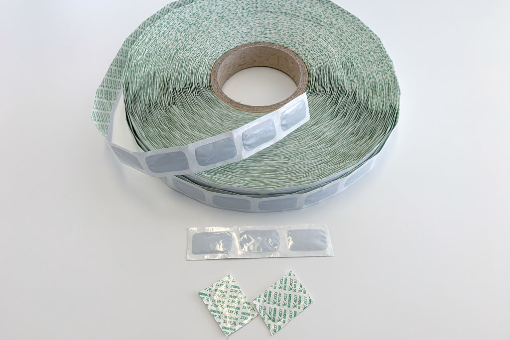 Oxygen Absorbers on a Reel