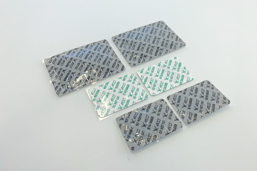 Oxygen Absorber Self Adhesive Labels