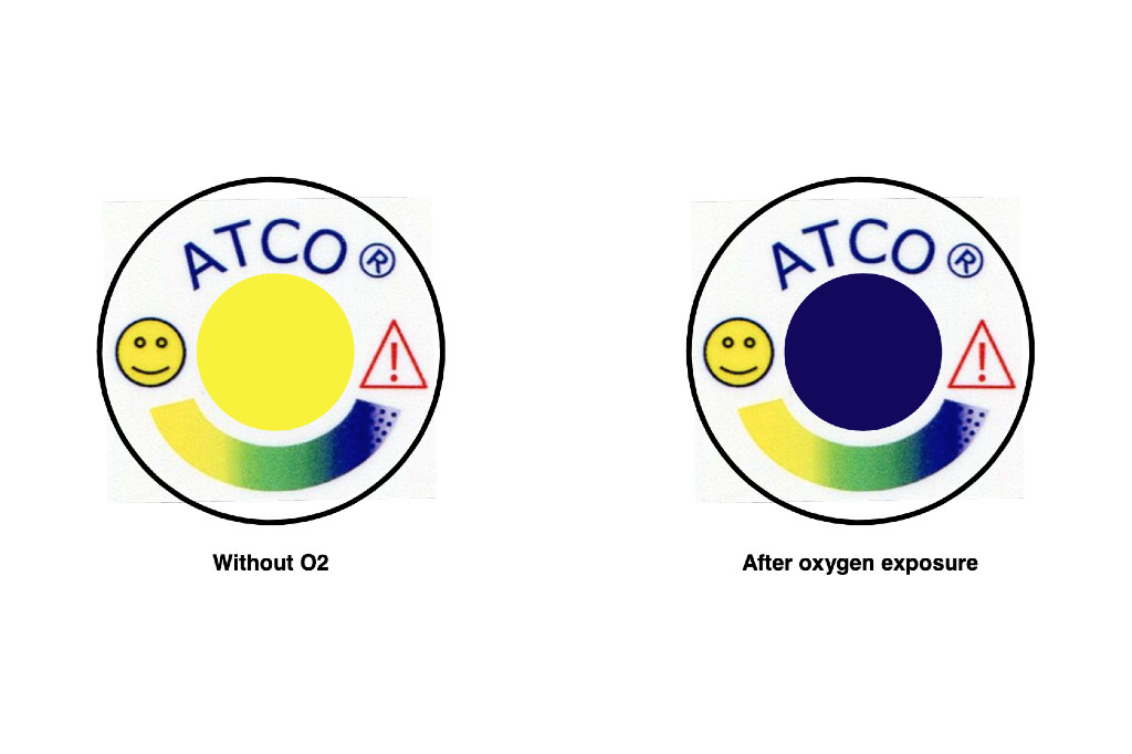 Oxygen Indicator Labels