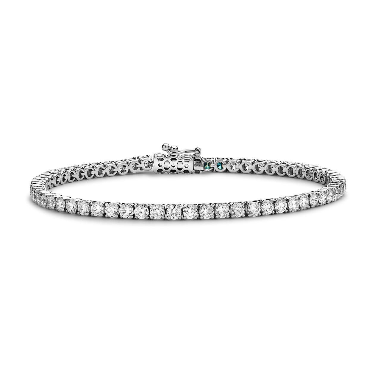 Humphreys London Platinum and Diamond Bracelet