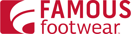 Famous Footwear logo with link to store detail page