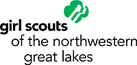 Girl scout logo with link to store detail page